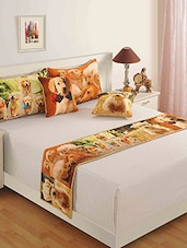 Multicolored Pure Cotton  Pillows And Cushion Cover Set - By - 9881064