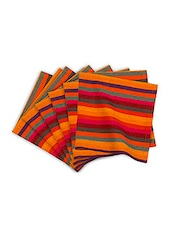 Multi Colour Cotton Napkin Set - By