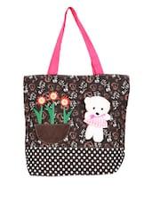 Mullti Color Printed Canvas Tote Bag - KaryB