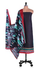 Printed Churidar & Dupatta Cotton Suit Set - Radharani