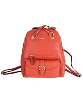 Funky Red Backpack -  online shopping for backpacks