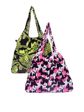 Animal And Butterfly Print Hand Bags - Be... For Bag