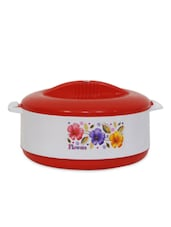 Red  Insulated Hot Single & Printed Casserole - Stand Max