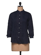 Blue Full Sleeve Shirt - Anshi