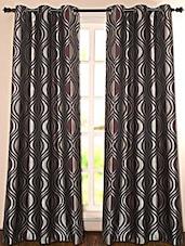 Printed Polyester Door Curtain - Deco Essential