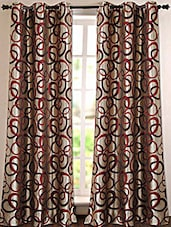 Geometric Printed Polyester Door Curtain - Deco Essential - 993588
