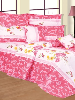 Floral print cotton Double bed sheet -  online shopping for bed sheet sets