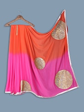 Chiffon Saree With Sequence Work - Ethnictrend