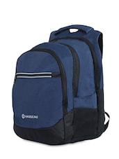 Blue Polyester Laptop Bags & Sleefe - By