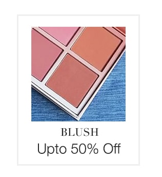 Up to 50% off onBlush