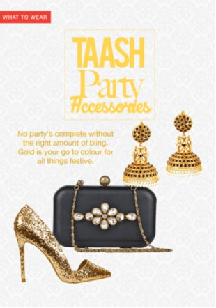 Diwali Taash Party Accessories