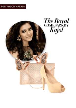 The Royal come back by Kajol