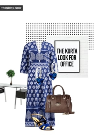 The Kurta Look for Office