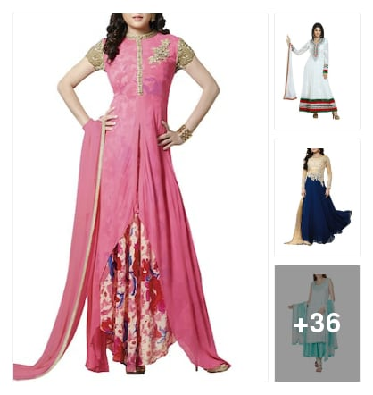 CRACKING  SUITS  FOR  WOMEN. Online shopping look by Reethu