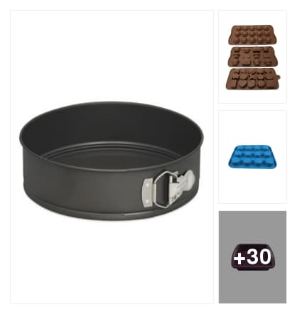 Nonstick 8inches cake pan. Online shopping look by chinni