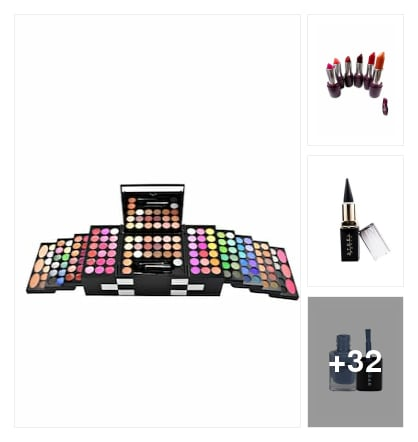 Your essential Make-up kit is ready. Online shopping look by Chandan Choudhary