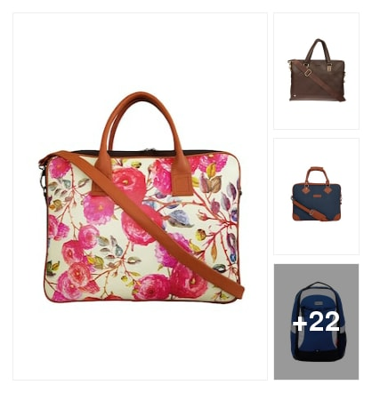 Laptop bags. Online shopping look by Teju