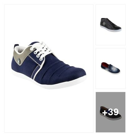 Casual Style Shoes For Men. Online shopping look by VENKAT