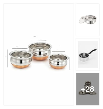 Nice cookware. Online shopping look by P