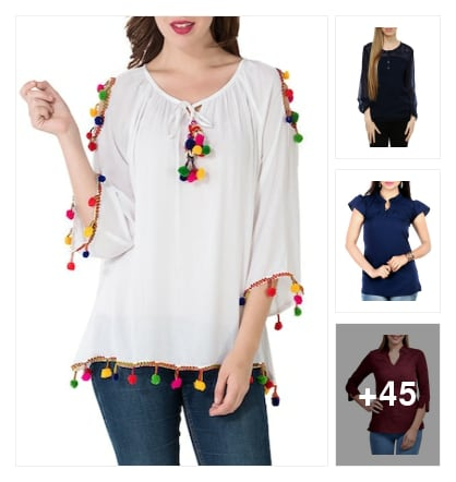 Lively   Tops  for  You. Online shopping look by Lakshmi