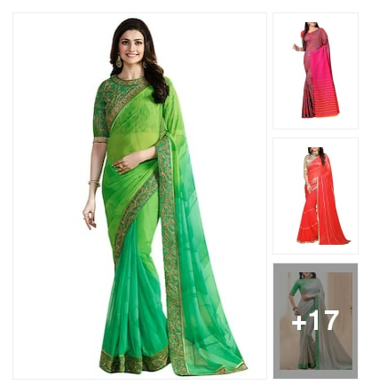 nice sarees. Online shopping look by Reethu