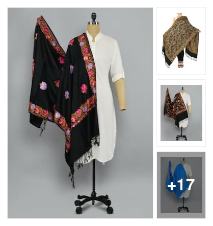 Shawls 635. Online shopping look by rudhra