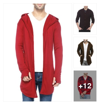 Latest winterwear   clothes for men. Online shopping look by Geeta