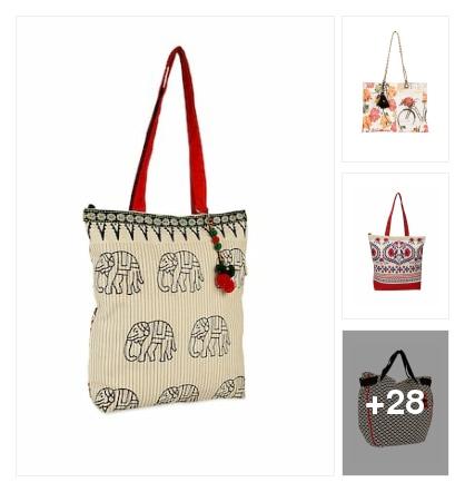 #tots bags. Online shopping look by Kriti