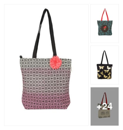 Multi colour Bag . Online shopping look by konda