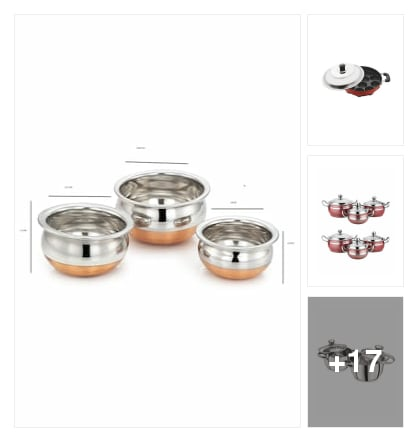 nice cookware. Online shopping look by saathvik