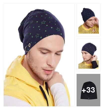 New arrival of man latest caps. Online shopping look by Geeta