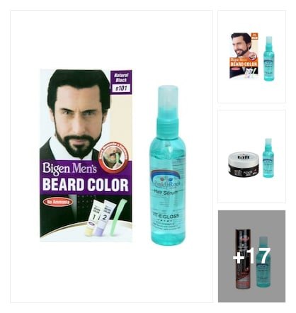 Men's hair colour. Online shopping look by Shona