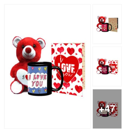 Best gifts collection for Valentine's Day. Online shopping look by kusum