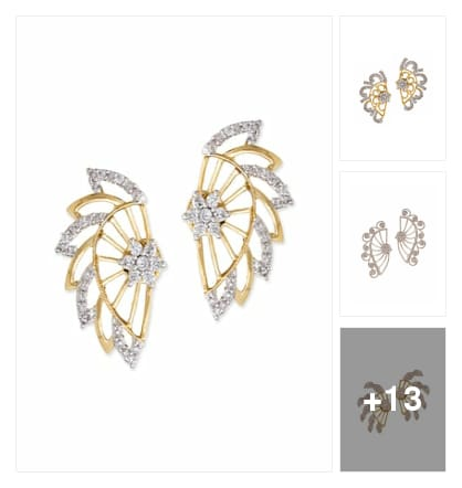 "Ear cuffs . Online shopping look by Trends update by ""Sheetal Thakur"""