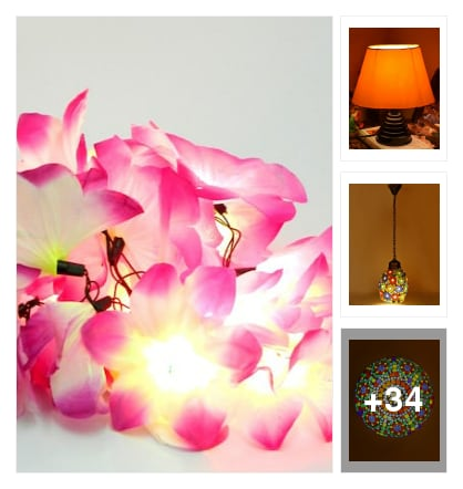 Lights for your home decoration. Online shopping look by Manisha