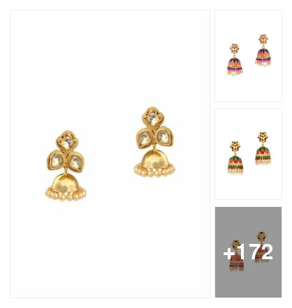 Jhumka love. Online shopping look by Neha