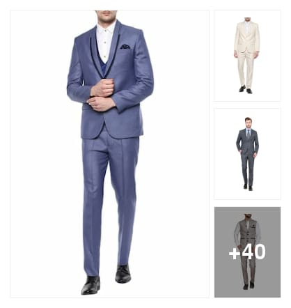Wants to be a celebrity appearance..try these suits. Online shopping look by nirupama