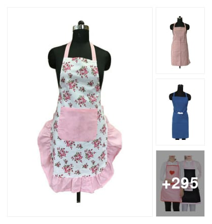 Kitchen aprons. Online shopping look by Manogna