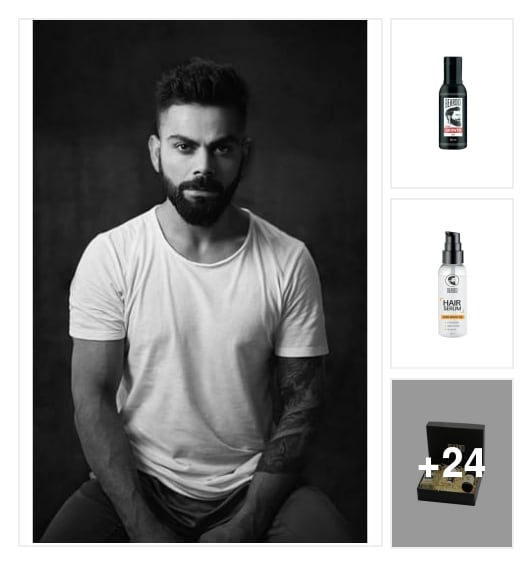 a modern man's guide to vanity . Online shopping look by Naaz