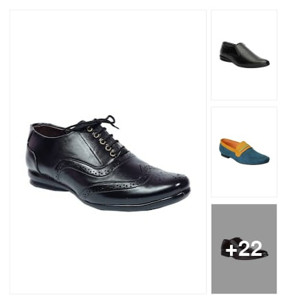 Formal Shoes For Men. Online shopping look by Pandarinath