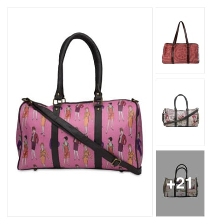 "On the places you'll go take this bags. Online shopping look by Trends update by ""Sheetal Thakur"""