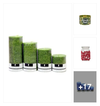 Candles. Online shopping look by rudhra