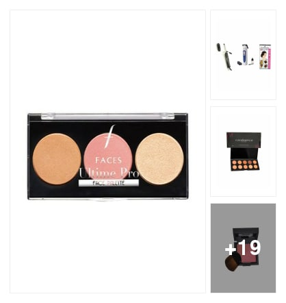 Beauty sets . Online shopping look by keerthi