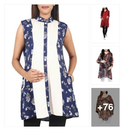 maternity tops. Online shopping look by Kumar