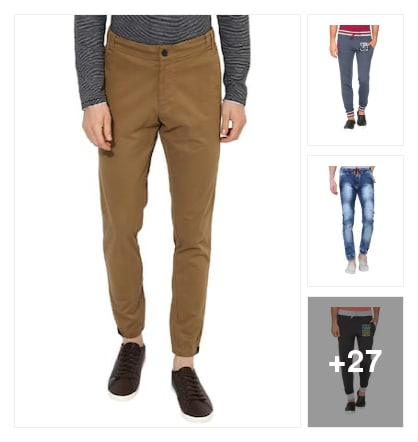 Joggers are On Trend fashion. Online shopping look by likith