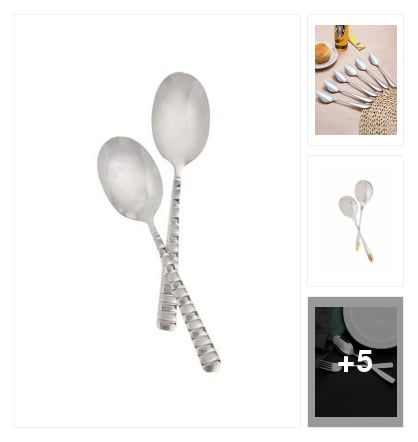 Cutlery sets. Online shopping look by Satish Kumar