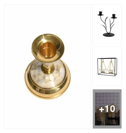 Candle stands. Online shopping look by Sowmya