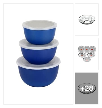 Dinner ware. Online shopping look by Srinath