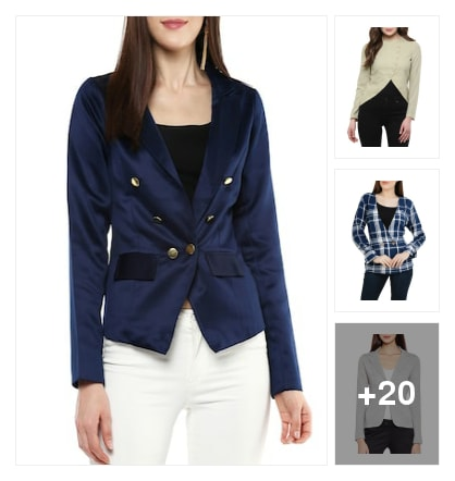 Women blazers. Online shopping look by riday