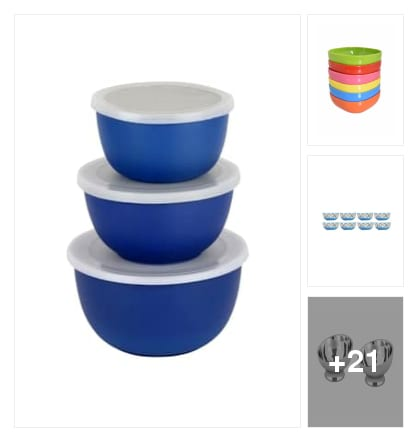 Bowls. Online shopping look by Satish Kumar